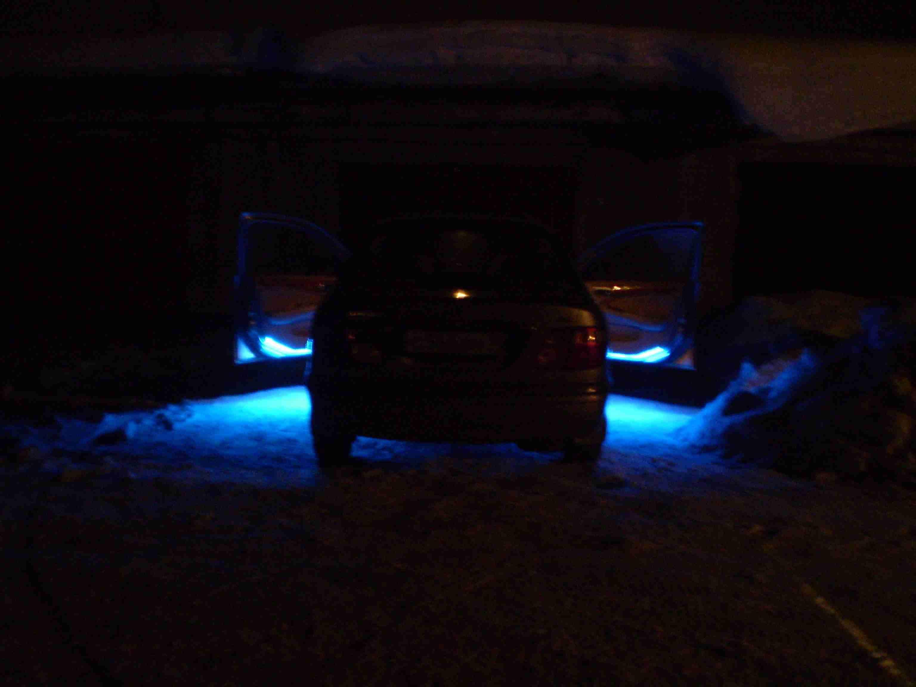 Подсветка дверей