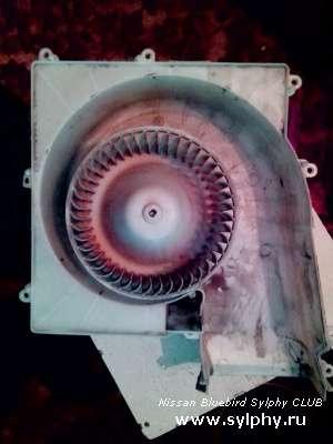 Мотор печки от X-Trail