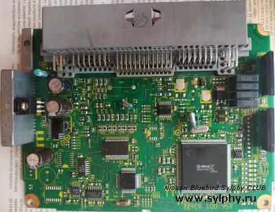 ECU (не работает 1 и 4 цилиндр) QG15DE