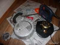 Замена моторчика отопителя
