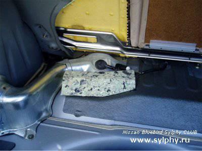 Замена топливного фильтра на 4WD Sylphy