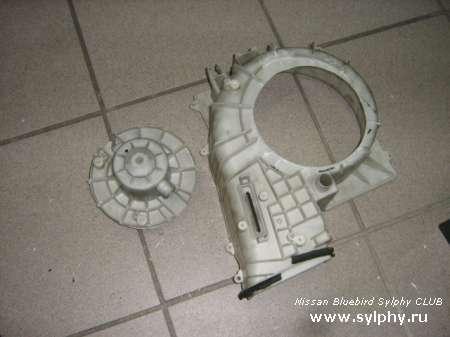 Если сломался вентилятор печки на Sylphy