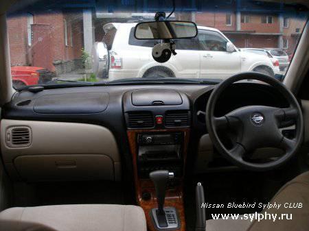Стайлинг интерьера Nissan Bluebird Sylphy