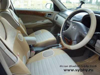 Отзыв после года эксплуатации Nissan Bluebird Sylphy