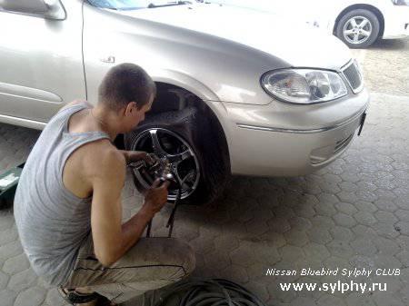 Азот или Воздух закачивать в шины?