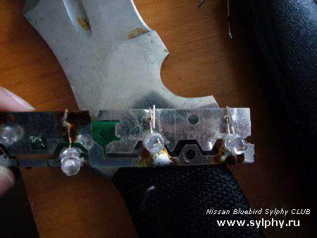 Замена светодиодов в дополнительном стоп сигнале