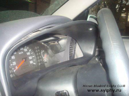 Замена лампочки панели приборов