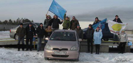 Празднование 2 годовщины Nissan Bluebird sylphy club в Омске
