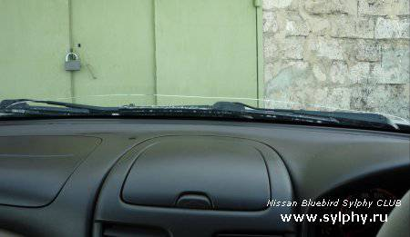 Проблема лобового стекла Nissan