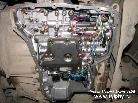 Ремонт АКПП на Nissan Bluebird Sylphy - толчки при переключении