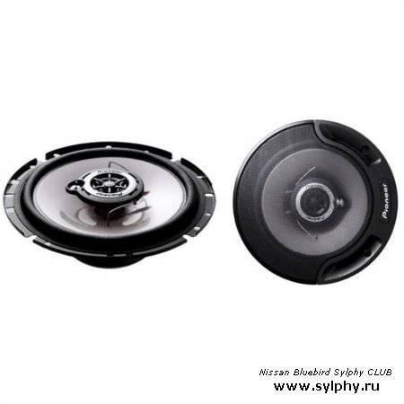 Замена динамиков в передних дверях Nissan Bluebird Sylphy