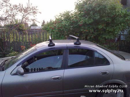 Багажник на крышу для птицы