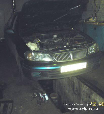 Ремонт насоса ГУР Nissan Sunny 2000г. (Bluebird Sylphy)