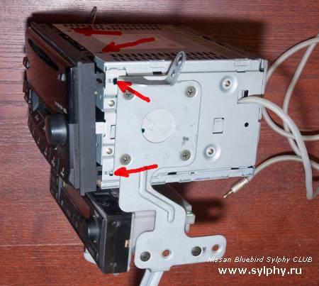 Вывод AUX для штатной магнитолы