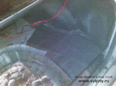 Фальшь-пол багажника с люком под запаску
