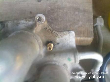 Установка газового оборудования на Nissan Sylphy