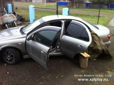 Замена ДВС Nissan Bluebird Sylphy
