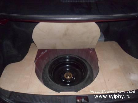 Приятные мелочи 2 или модинг и шумка Nissan Sylphy