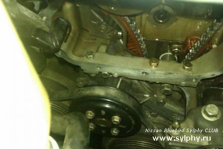 Ремонт двигателя QG15DE своими руками