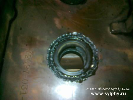 Замена сальников клапанной крышки QG18 с паяльником