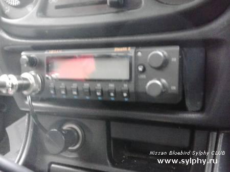 Установка радиостанции в панель вместо бардачка (кармашка) (new)