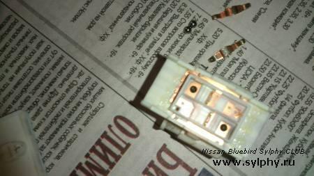 Восстановление кнопок стеклоподьемника  (пассажирских)