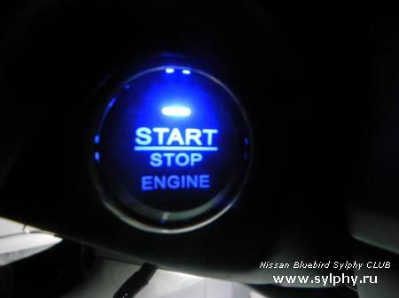 Установка кнопки START/STOP ENGINE