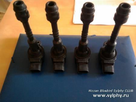 Ремонт, разбор и профилактическая чистка, Катушек Зажигания двигателя QG18DE