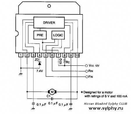 Штатный монитор на навигатор