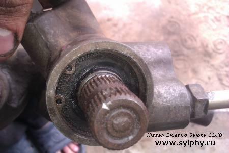 Ремонт рулевой рейки другого образца.