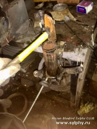 перепрессовка / ремонт / замена подшипника передней ступицы
