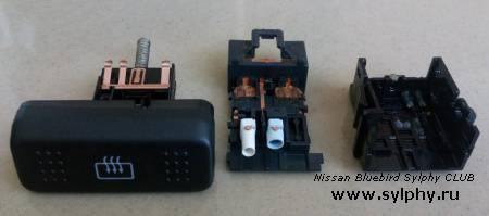 Ремонт подсветки кнопок обогрева заднего стекла и переключателя АКПП