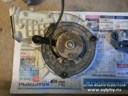 Моторчик печки от ВАЗ 2110