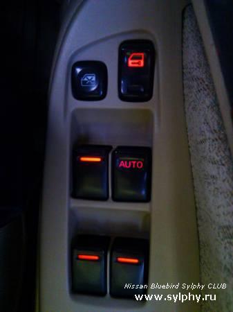 Доработка подсветки кнопок управления стеклоподъемниками