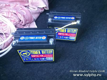 Установка дополнительного аккумулятора для питания автономного подогревателя