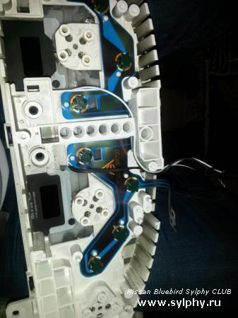 Еще один вариант подсветки приборной панели