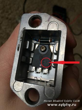 Восстановление регулятора моторчика печки