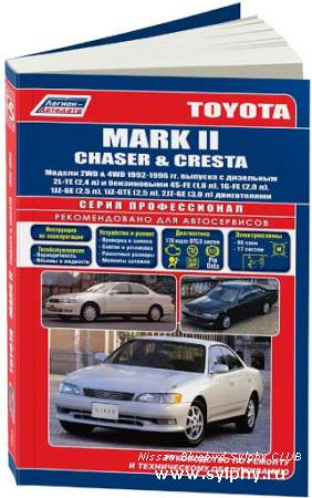 Руководство по эксплуатации Toyota MARK II / CHASER / CRESTA 1992-1996 гг